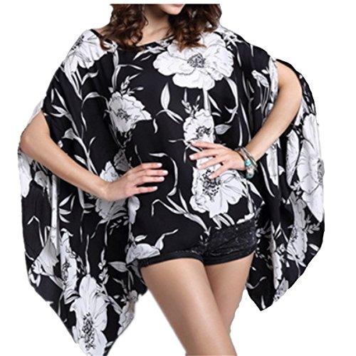 Top One - Veste de tailleur - Blouson - Femme Gris - Blanc/noir