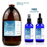 300ml Colloidal Silver (45ppm) + 30ml Full Spray & 30ml Full Pipet - Silvercleanse Health & Beauty - amazon.co.uk