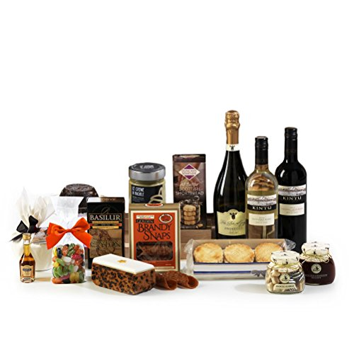 Hay Hampers Yuletide Christmas Food Hamper Box - FREE UK Delivery