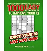 [ 1000 Easy Sudoku Puzzles To Improve Your Iq ] By Toth M a M Phil, Kalman (Author) [ Oct - 2013 ] [ Paperback ]