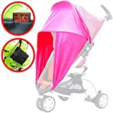 iSafe Sunny Sail - Pink Universal Fit For Chicco Echo Stroller (Ibiza)