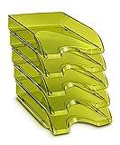 CEP Happy - Vassoio porta-lettere, 10 pezzi, verde bambù
