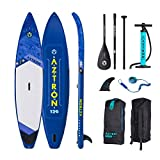 AZTRON Neptune 12.6 Double Double Sup Stand Up Paddle Board Set Oferta, Board+Style ALU Paddel+Leash