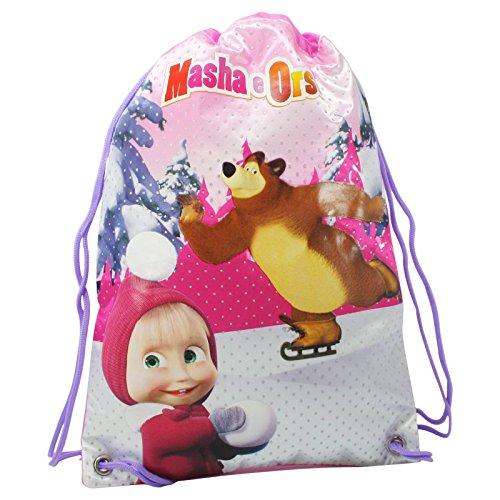 Masha e orso zaino borsa bambina sacca zaino scuola asilo