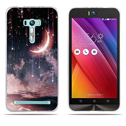 DIKAS ASUS ZenFone Selfie ZD551KL Hülle, Transparent Ultra Slim Tasche Etui Weich Flexibel Crystal Clear Premium TPU Silikon Bumper Schutzhülle für ASUS ZenFone Selfie ZD551KL- Pic: 14
