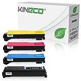 4 Toner kompatibel zu Kyocera TK-540 für Kyocera FS-C5100DN - Schwarz 10.000 Seiten, Color je 8.000 Seiten