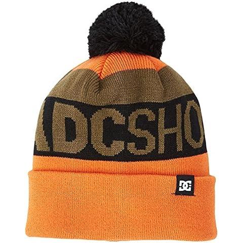 DC Shoes Chester–Gorro, color Mandarin, tamaño talla única