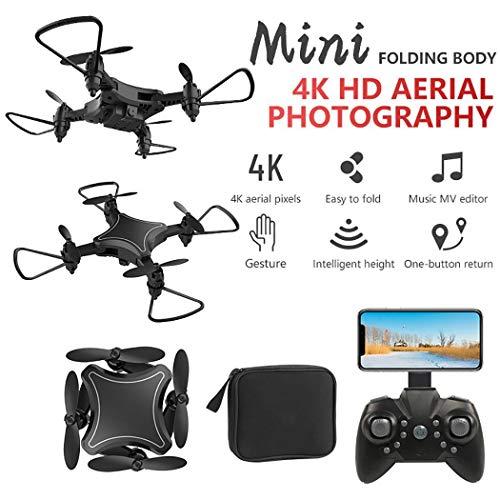Mini Drone Giocattolo telecomandato Pieghevole a 4 Assi