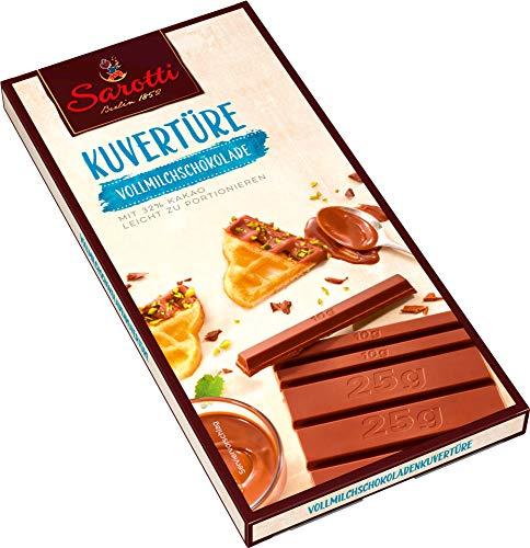 Sarotti - Kuvertüre Vollmilchschokolade - 200g