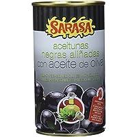Sarasa Aceituna Negra con Hueso - Paquete de 12 x 350 gr - Total: 4200 gr