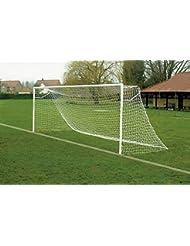 Filets de Remplacement pour les buts foot jeunesse 6,4 x 2,1 m avec profondeur en haut (sans but) [Net World Sports]