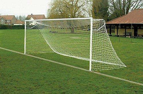 Hochwertiges Tornetz für Jugendfußballtore 6,4 m x 2,1 m, 2,5 mm [Net World Sports]