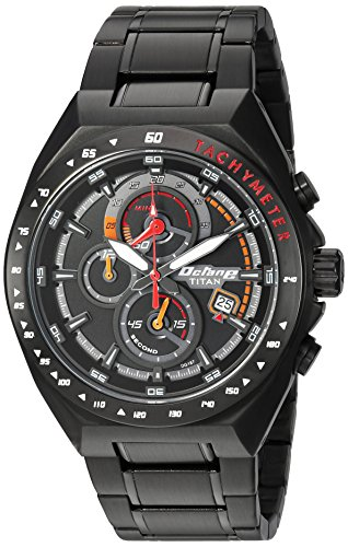 Titan 90048NM01  Chronograph Watch For Unisex
