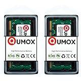 QUMOX 4Go(2x2Go) DDR2 800MHz PC2-6300 PC2-6400 DDR2 800 (200 PIN) SODIMM Mémoire pour ordinateur portable