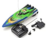 Best Green Toys Remote Control Boats - MD Group RC Boat High Speed Racing Green Review
