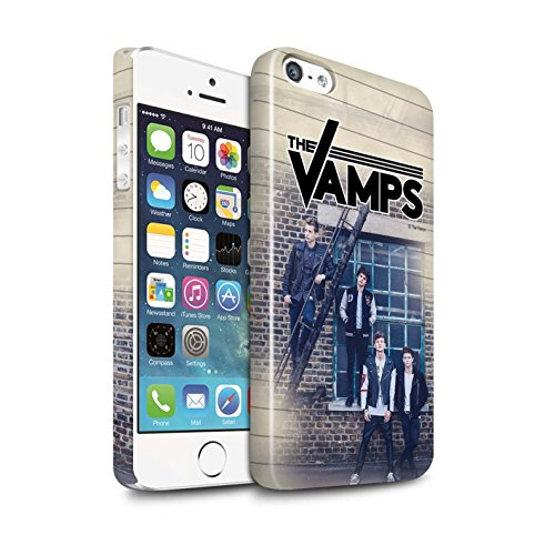 Offiziell The Vamps Hülle / Glanz Snap-On Case für Apple iPhone SE / Pack 6pcs Muster / The Vamps Fotoshoot Kollektion Tagebuch