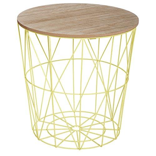 Table basse design moderne - Style scandinave - Coloris VERT Anis