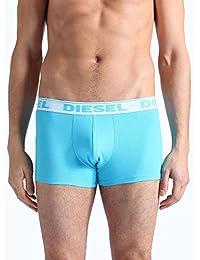 Diesel Hommes Boxer Trunk frais et lumineux Cotton Stretch Pant - sky azure bleu