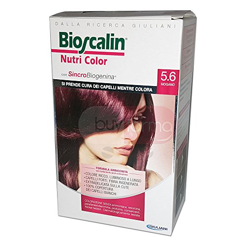 BIOSCALIN Nutri Color colorazione permanente Mogano 5.6