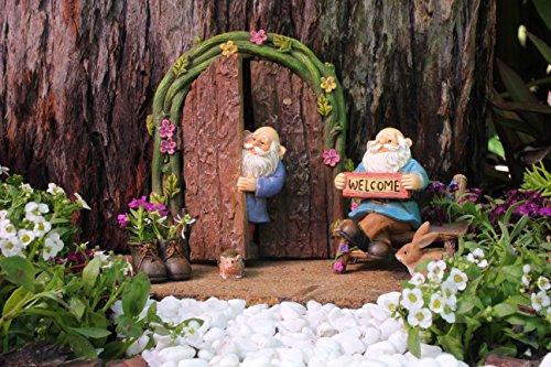 1000 Idee Per Il Giardino : Pretmanns gnomi in miniatura per il giardino fatato set da