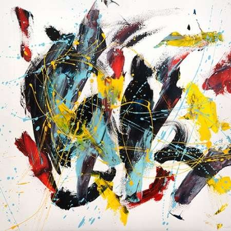 Impresión de Arte Fino en lienzo : Caprice I by Ferri, Bob - Medio (122 x 122 Cms)