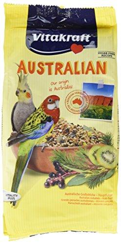 r für australische Großsittiche, Getreide/Saaten/Kiwi/Eukalyptus/Holunderbeeren, Zuckerfreie Rezeptur, AUSTRALIAN ()