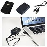 PowerSmart® USB Chargeur pour Samsung ST45, ST50, ST500, ST560, ST600, ST550, SLB-07, SLB-07A, SLB-07B, SLB-07EP