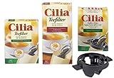 Cilia Teefilter 100 Stück natur (8 Packungen)