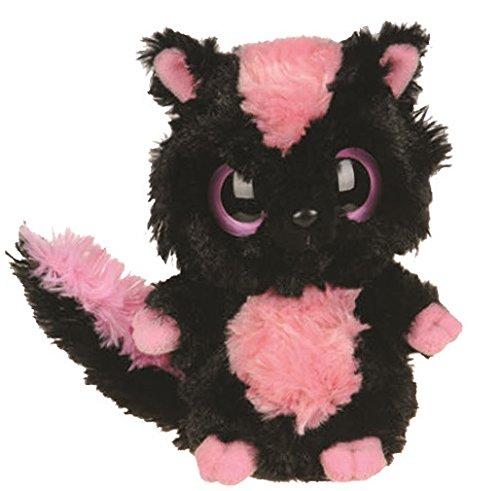 yoohoo-friends-pluschtier-stinktier-skunk-sparkee-schwarzes-kuscheltier-ca-13-cm