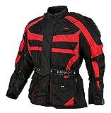 Bangla Kinder Motorradjacke Tourenjacke Textil 1152 Schwarz Rot 164