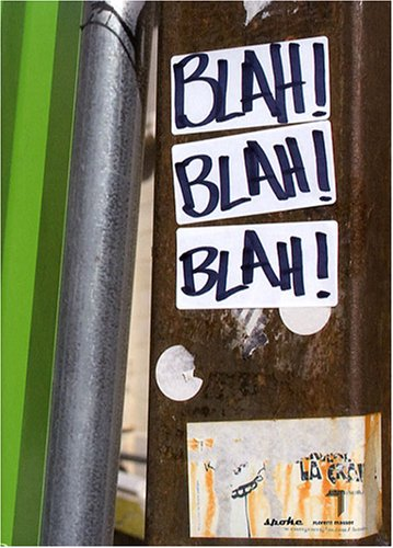 Blah ! : Une anthologie du slam (1CD audio)