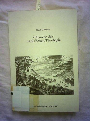 Chancen der natürlichen Theologie (1985)