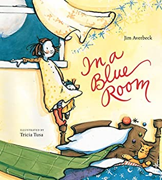 book cover of In a Blue Room