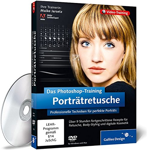 Das Photoshop-Training: Porträtretusche