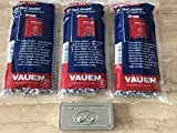 VAUEN 3 x Pfeifenreiniger mit Bürste - 80 Konische Reiniger Metallbox