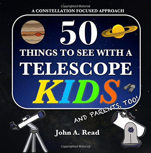 50 Things To See With A Telescope -