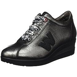 Melluso R25802, Sneaker a Collo Basso Donna, Grigio (Antracite), 38 EU