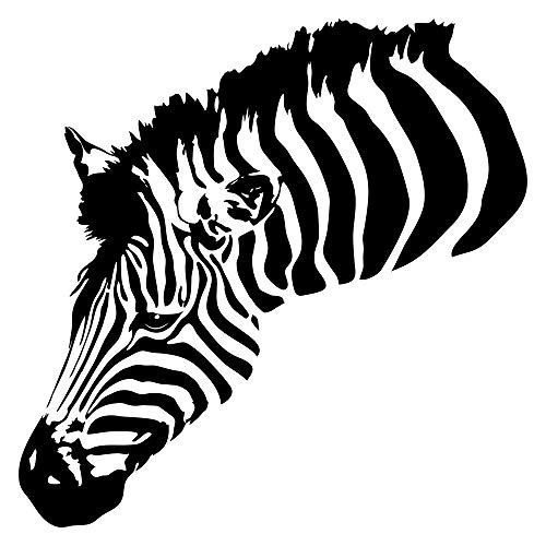 Wandtattoo Afrika Zebra Wandsticker Tiere Savanne Dekoration Safari