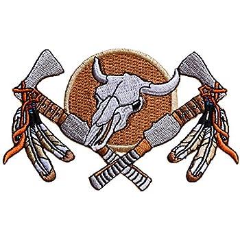 Patche écusson Aigle Indien Sioux thermocollant applique patch brodé badge