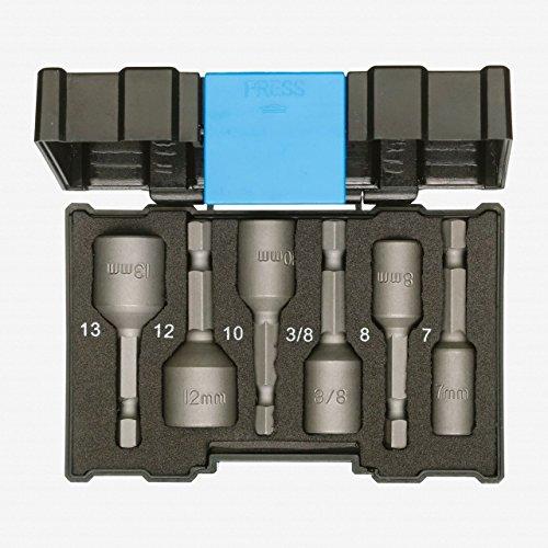 GEDORE 666-006 Bit-Box Steckschlüssel Maschinenaufnahme 6tlg