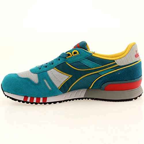 Diadora Titan Ii Scarpe Low-Top, Unisex adulto turchese