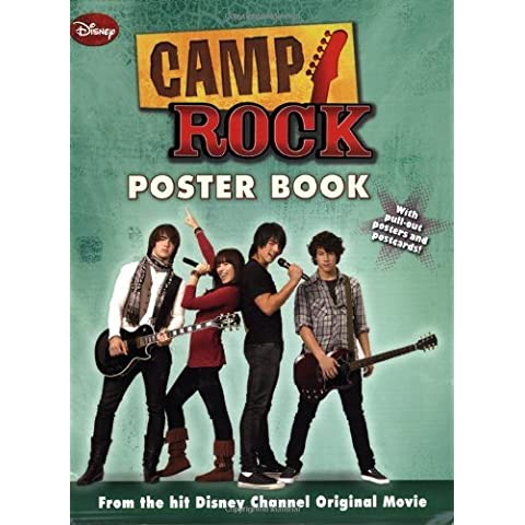 Camp Rock Poster Book by Disney Book Group (2008-05-13)