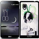 Funda para LG Optimus G (E975) - Animales Bulldog Francés Lindo Perro by Grab My Art