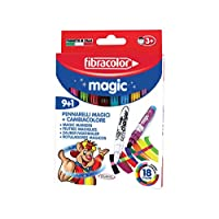 Fibracolor Colour Change Magic Pens (9+1)
