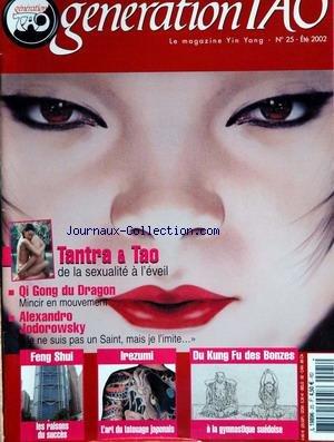 GENERATION TAO [No 25] du 01/07/2002 par COLLECTIF