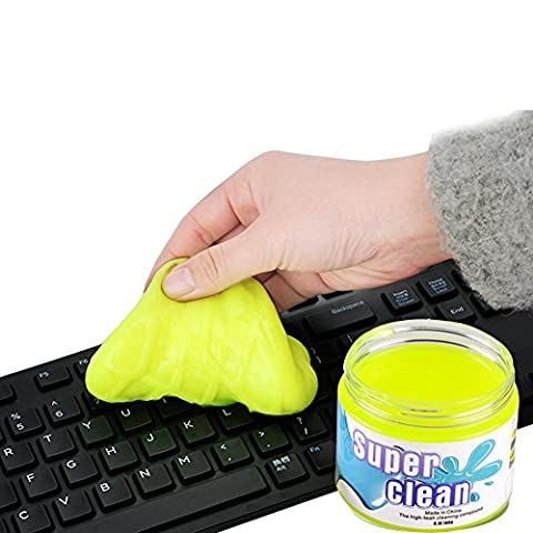 Gestop Keyboard Cleaner Remove Dust, Hair, Crumbs from Keyboard, Keypad,