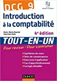 DCG 9 - Introduction à la comptabilité - 4e édition - Tout-en-Un de Anne-Marie Bouvier ,Charlotte Disle ( 26 août 2015 ) - Dunod; Édition 4e édition (26 août 2015) - 26/08/2015