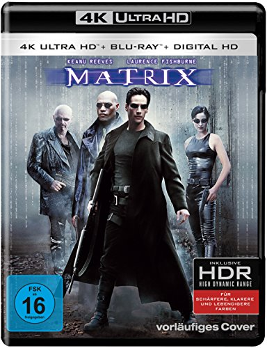 Matrix - Ultra HD Blu-ray [4k + Blu-ray Disc]