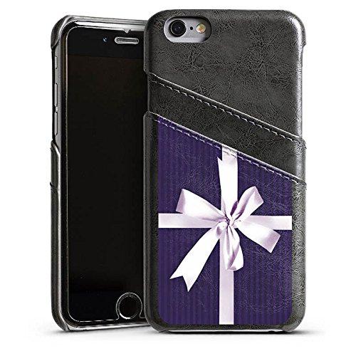 Apple iPhone 4 Housse Étui Silicone Coque Protection Cadeau Poison Boucle Étui en cuir gris