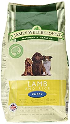 James Wellbeloved Complete Dry Puppy Food Lamb and Rice, 2 kg from HGGA4